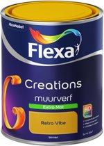 Flexa Creations - Muurverf Extra Mat - Retro Vibe - 1 liter