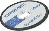Dremel EZ SpeedClic: snijschijven voor kunststof 5-pack.  - SC476
