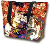 "Shopper - handtas - Standtas - Tas  ""The Virgin"" van Gustav Klimt"