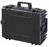 Gaffergear camera koffer 054 zwart   -  excl. plukschuim    -  47,30   x 21,50  x 21,50  cm (BxDxH)