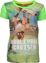 TYGO & vito Jongens T-shirt - green gecko - Maat 92