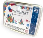 Magna-Tiles Clear Colors 32 in Opbergbox - Magnetisch Speelgoed