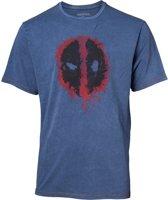 Deadpool - Faux Denim T-shirt - S
