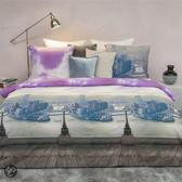 HnL Pure Cotton Purple Rain Dekbedovertrek - Tweepersoons - 200x200/220 cm - Multi