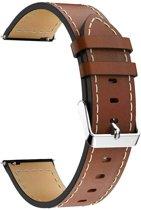 AA Commerce Kunstleren bandje - Samsung Galaxy Watch (46mm) - Bruin