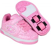 HEELYS X2 PLUS LIGHTED, ROZE/WIT