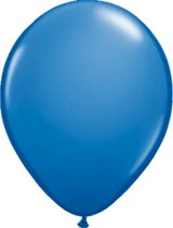 Donkerblauwe Ballonnen 30cm - 100 stuks