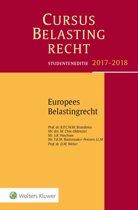 Cursus Belastingrecht - Europees Belastingrecht