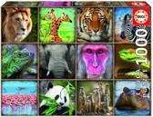 Educa Wilde dieren legpuzzel 1000 stukjes