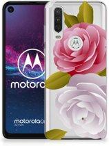 Motorola One Action TPU Case Roses