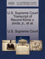 U.S. Supreme Court Transcript of Record Kinns V. Jorda, Jr., Et Al.