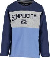 Blue Seven Jongens T-shirt - blauw - Maat 116