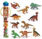 Plastic speelgoed figuren baby dino 12 stuks
