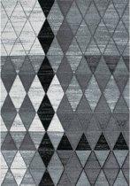 Vloerkleed - 2500 gr per m² - Infinity - Grijs - 9538 - 80x150 cm - 13 mm