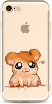 Apple Iphone 7 / 8 Siliconen cover hoesje (hamstertje)
