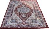 Vloerkleed klassiek Tachmahal perzisch patroon Rood Diamant 200x290 cm