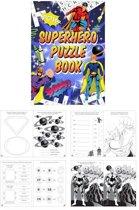 Uitdeelcadeautjes - Puzzelboeken - Model: Super Hero (48 stuks)