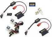 H8 - H9 Xenon Slim Ballast HID inbouw Set 6000K & Gratis Led