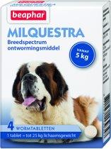 Beaphar Milquestra Hond - 4 Tabletten