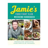 Boekomslag van 'Jamie's Food Fight Club weekend kookboek'