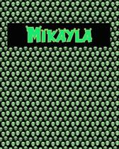 120 Page Handwriting Practice Book with Green Alien Cover Mikayla