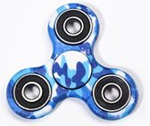 Fidget Spinner Hand Spinner CAMOUFLAGE COLOR BLAUW
