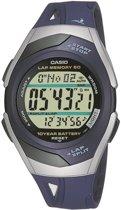 Casio STR-300C-2VER - Horloge - 35 mm - Kunststof - Blauw