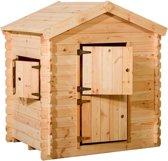 Woodvision - Speelhuisje Siem - Grenen - 130x105,5x150 cm
