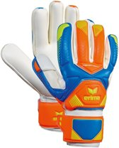 Erima Premier Match Keepershandschoenen Oranje/blauw Maat 8,5