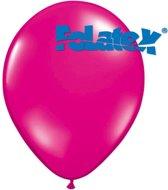 Ballonnen Magenta 30 cm 25 stuks