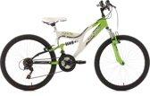 Ks Cycling Fiets 24'' kinderfiets Zodiac van KS Cycling, wit-groen, FH 38 cm - 38 cm