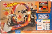 Hot Wheels Track Builder Construction Mega Crash Set