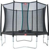 Berg Trampoline Favorit + Veiligheidsnet Comfort 330 Cm Grijs