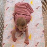 Lodger Baby slaapzak - Hopper Solid - Donkerroze - Lange mouw - 86/98