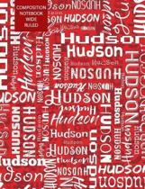 Hudson Composition Notebook Wide Ruled