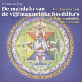 De mandala van de vijf mannelijke boeddha's