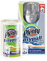 Plenty Easypull mobiele dispenser zwart