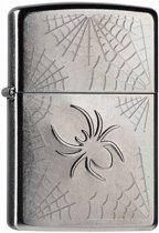 Aansteker Zippo Stamped Spider Web