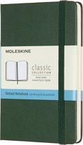 Moleskine Notitieboek-Pocket-Stippen-Groen-Harde Kaft