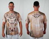 Bones Sportswear Here T-shirt Western maat L