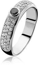 Zinzi - Zilveren Ring - Maat 62  ZIR764-62