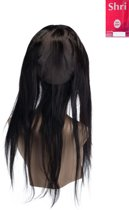 Shri 100% Indian Human Hair 360⁰ met cap Frontal Straight, 14 Inch, 130% Density