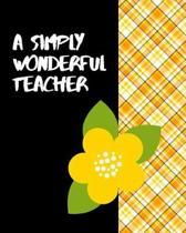 A Simply Wonderful Teacher