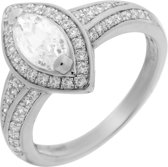 Ring Marquise - Zilver 925 - Micro Pavé Zirkonia