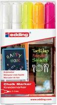 Edding Krijtmarker e-4095 - Meerdere kleuren - 5 stuks