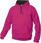Carmel hooded sweat 280 g/m2 helder kersen m