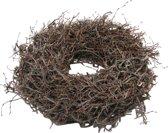 Krans - Kerstkrans - Herfstkrans - Hout - Bonsai - Bruin - Naturel - D 60 cm