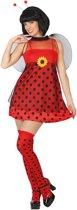 Lieveheersbeestje outfit voor dames  - Verkleedkleding - XL