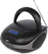 Nikkei NIKKEI NPRC56BK portable radio/CD-speler met USB-Poort en Bluetooth