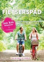 Fietserspad 1 Etappe 1 tot en met 5 Van Groningen naar Gelderland